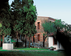 Maillol museum near Banyuls