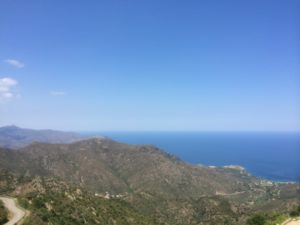 View from San Pere de Rodes