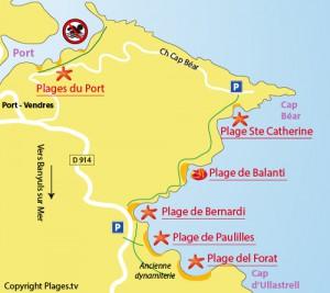 playas de la Bahía de Paulilles