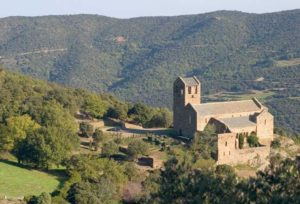 View of the Priory of Serrabone