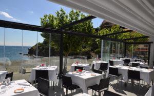 Restaurant outside Collioure & Argelès