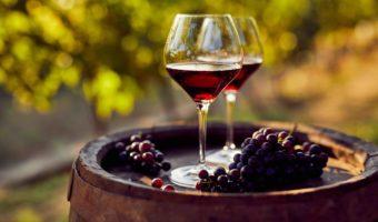 2 verres de vins